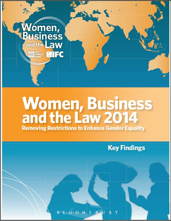 Women business and the law 2014