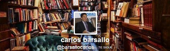 Siga a Carlos Barsallo en Twitter @barsallocarlos