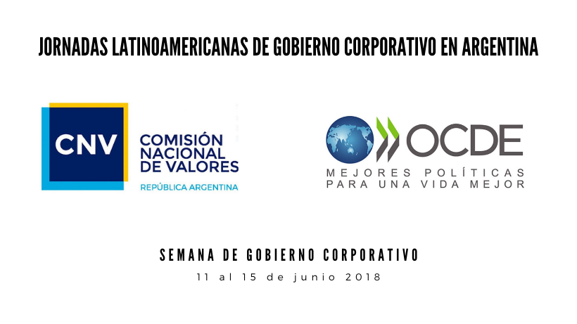 JORNADAS LATINOAMERICANAS DE GOBIERNO CORPORATIVO EN ARGENTINA